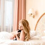 Dessous Model Claudia im Hotel in Weiz