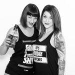 Girl / Girl Fotoshooting mit Elisa und Marietta