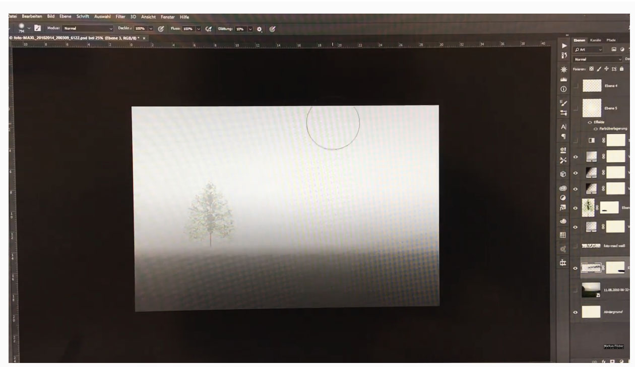 QuickTipp: Landschaft und Baum in Photoshop erstellen