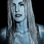 Portrait Model Silvia im Fotostudio