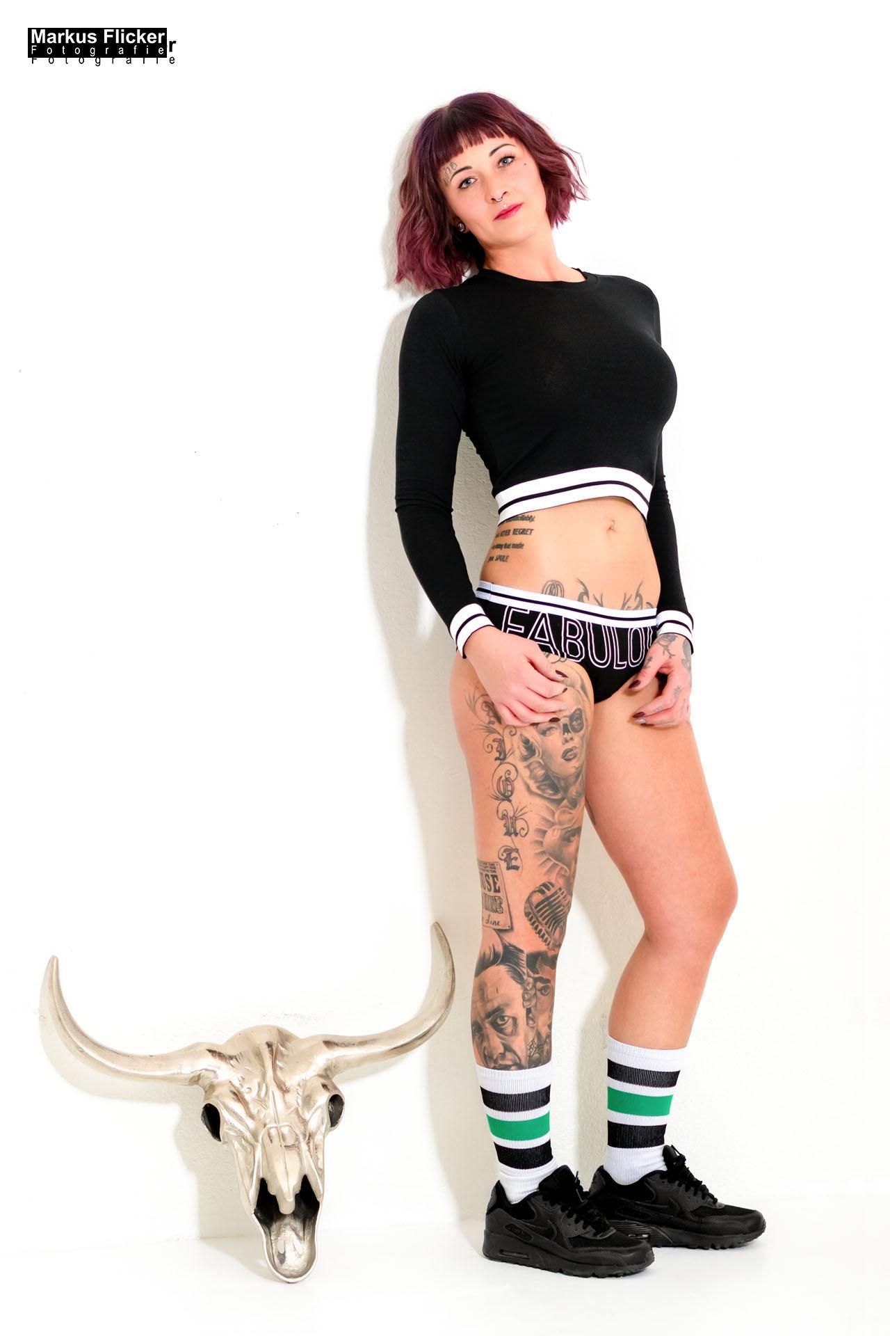 Studio Fotoshooting mit Marietta Wild