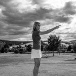 Making-Of Fotos Golfclub Almenland Golf mit Silvia Reisinger
