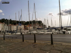 Piran am Meer in Slowenien an der Adria