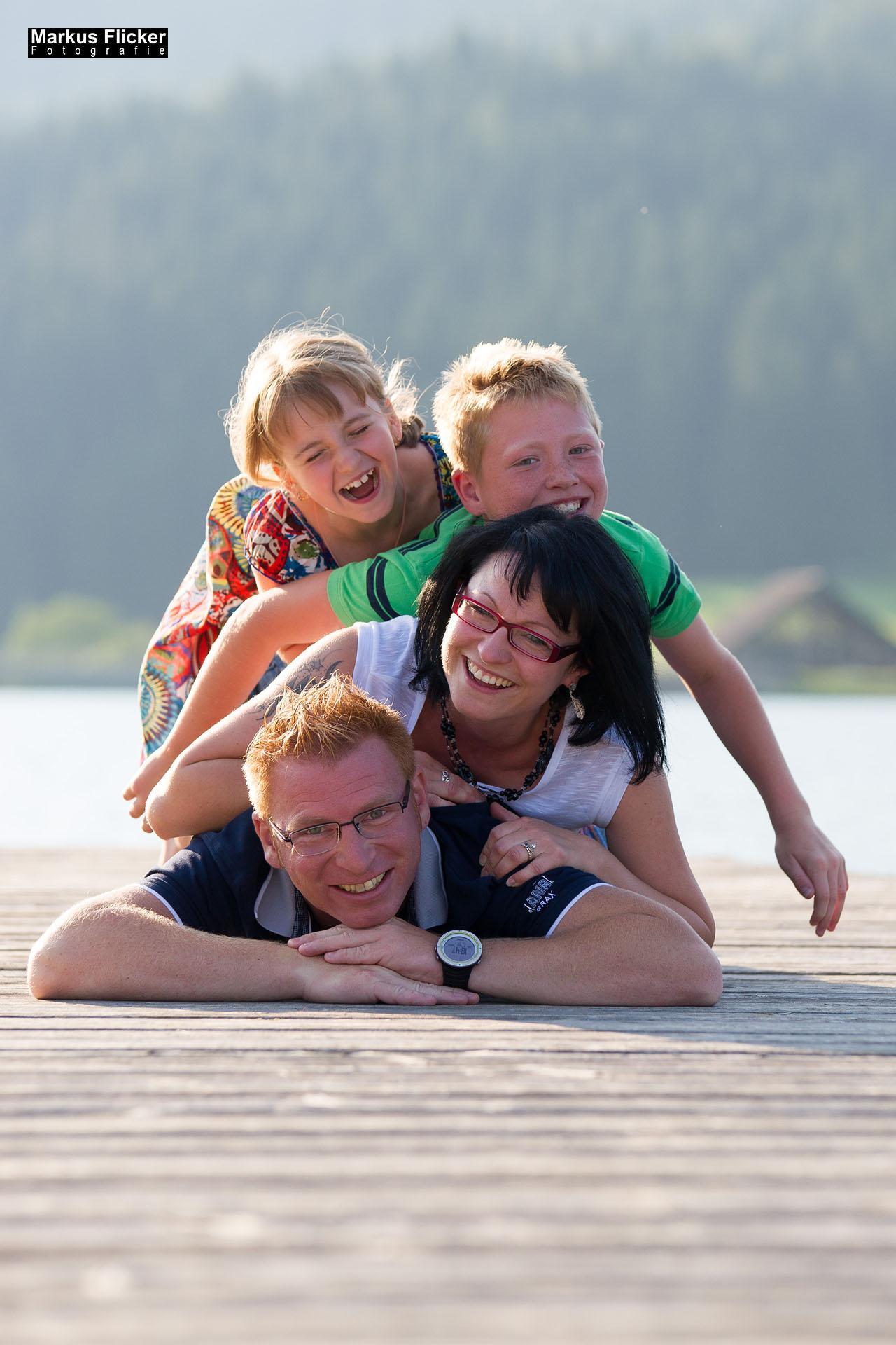 Familienfotos auf der Teichalm und am Moorlehrpfad im Almenland
