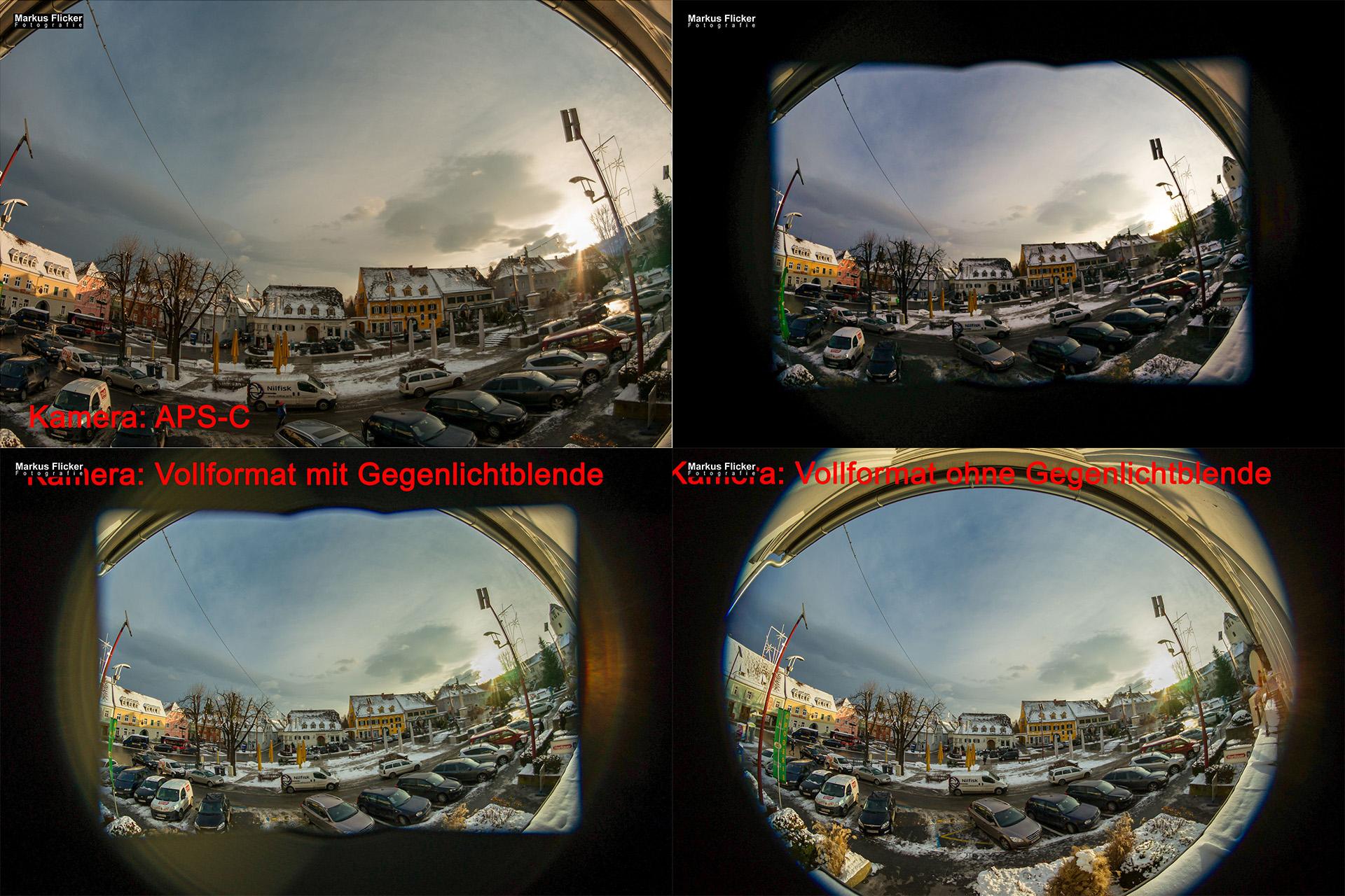 Kamerasensor für Fotoprojekt Weitwinkel Fotografie 365 Tage