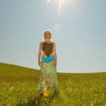 Model Kyara Wasser Bikini Fotoshooting in der Raabklamm