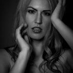 Model Silvia Fotoshooting im Studio