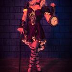 Steampunk Portrait im Fotostudio mit Model Sandra