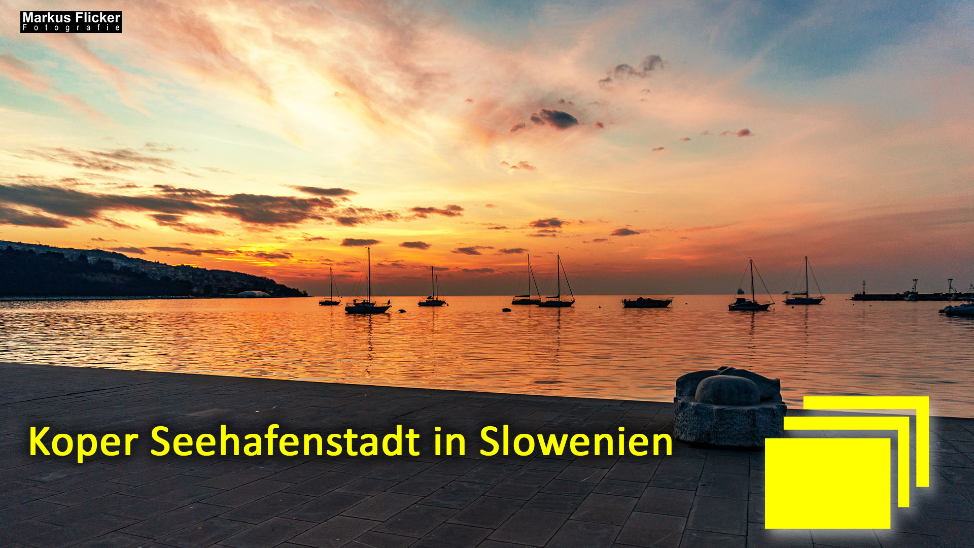 Koper Seehafenstadt in Slowenien