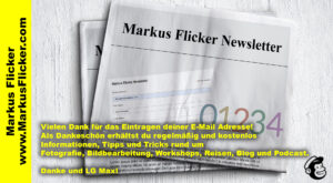 Newsletter Markus Flicker