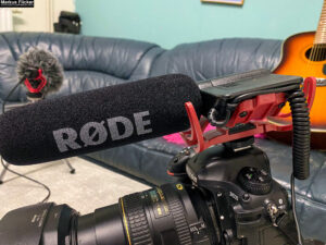 Podcast und Video Mikrofon Rode Rycote Edition VideoMic