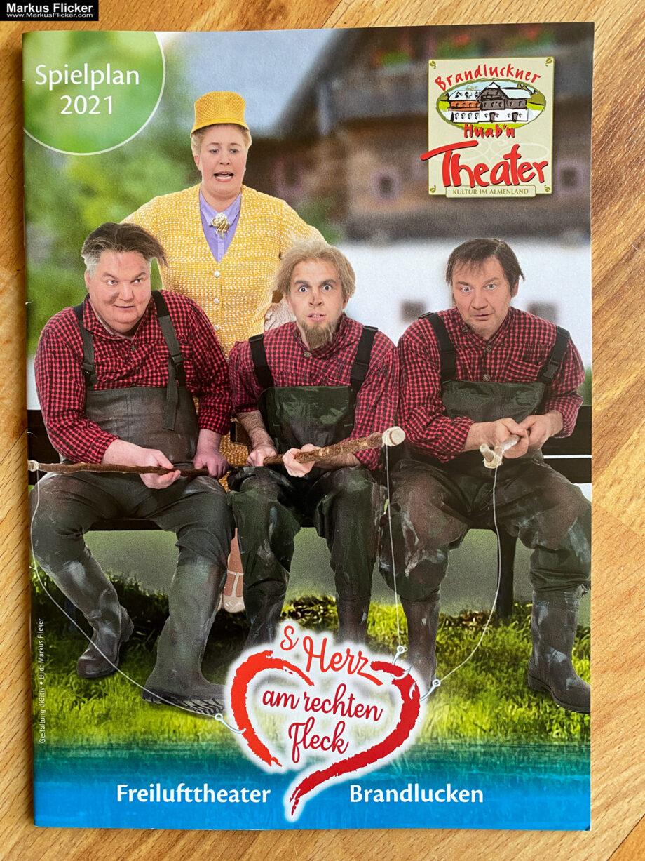 Brandluckner Huab'n Theater Freilufttheater Mittwoch Theater beim Bauernhofer Spielplan 2021