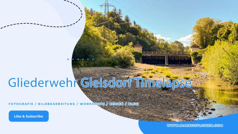 Gliederwehr Gleisdorf Timelapse #gleisdorf #gleisdorfcity #gliederwehr #timelapse